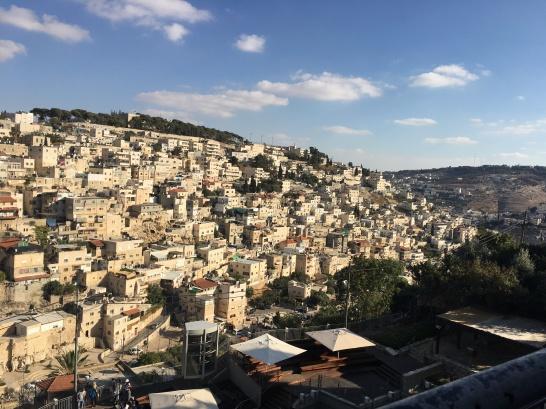 Palestinian neighborhood of Silwan